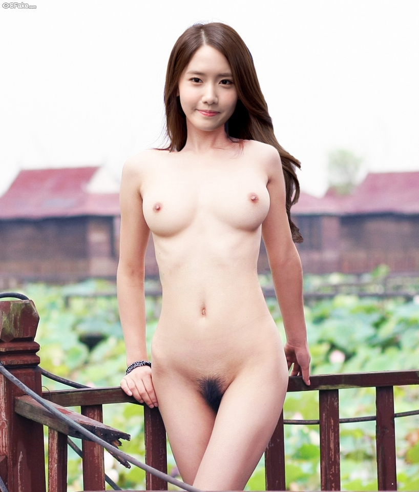 Im Yoon-ah sex tape poses nude wallpaper