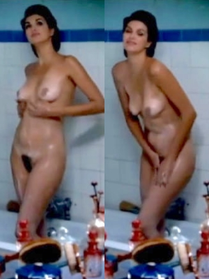 Helena Noguerra French Actress Naked Milf Hairy Pussy Boobs 5 Bathroom Pics