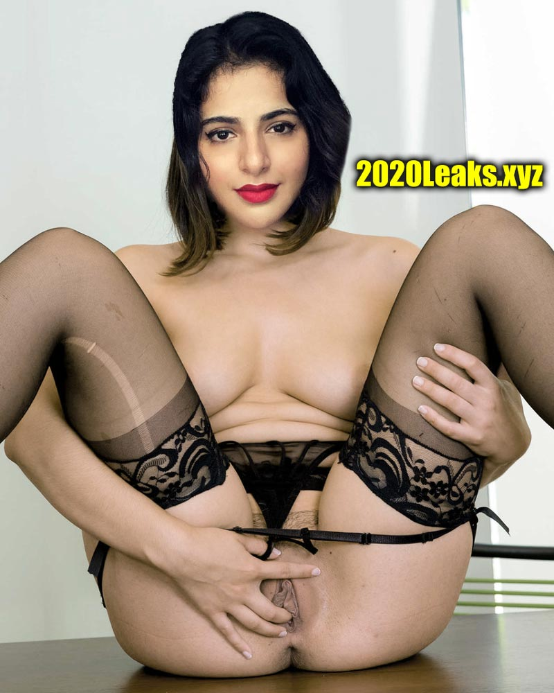Topless Iswarya Menon Spreading Her Pussy Lip Sexy Lingerie Image