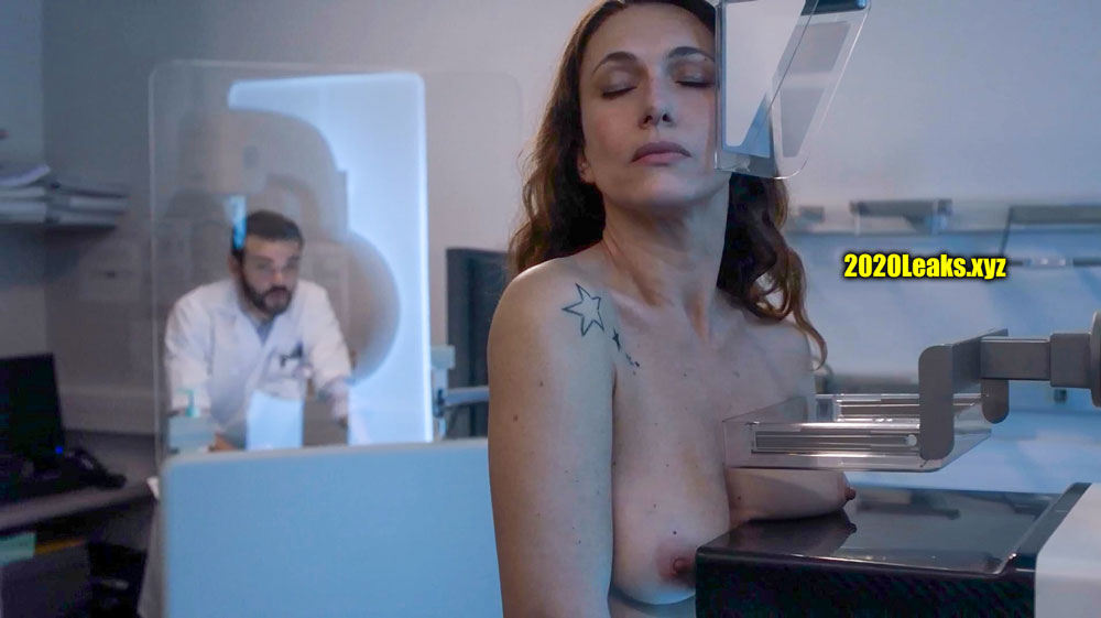 Natacha Lindinger 47 year old tits x ray without bra nude