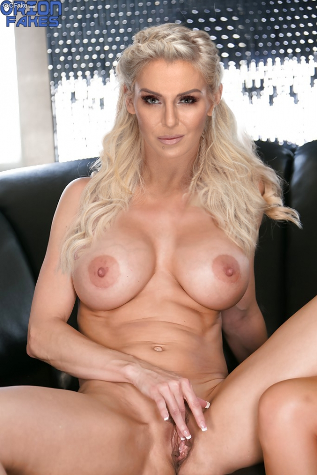 Charlotte Flair naked pussy fingering