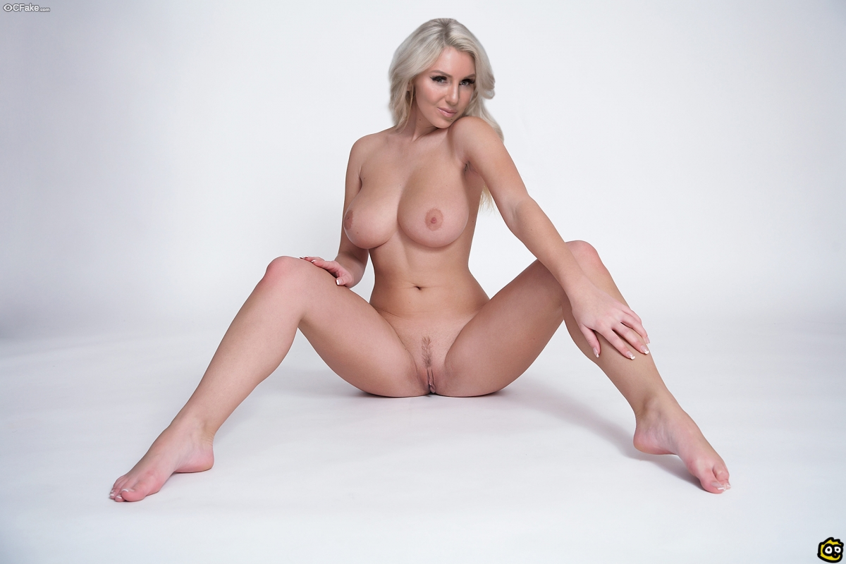 Charlotte Flair nude studio photoshoot without dress