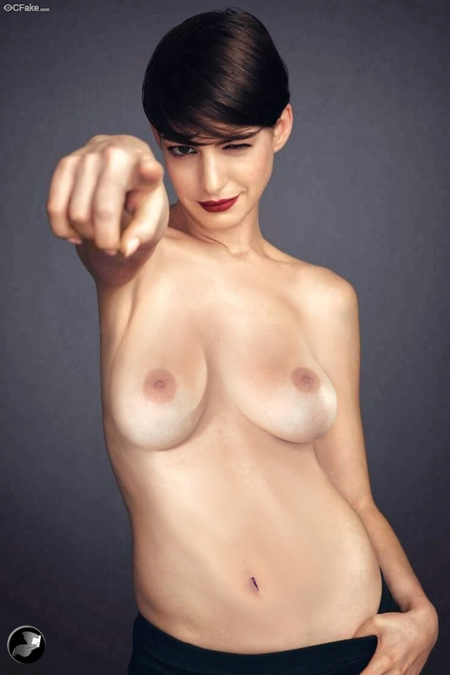 Anne Hathaway Naked Nude