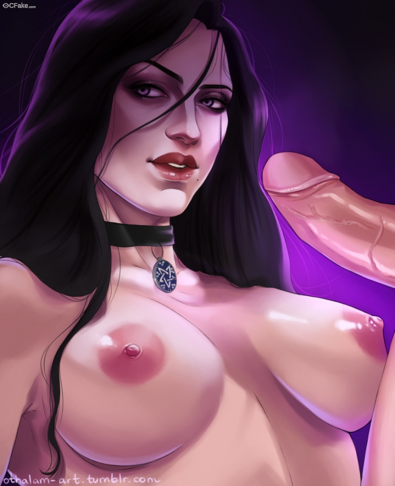 The Witcher (video game) tits image