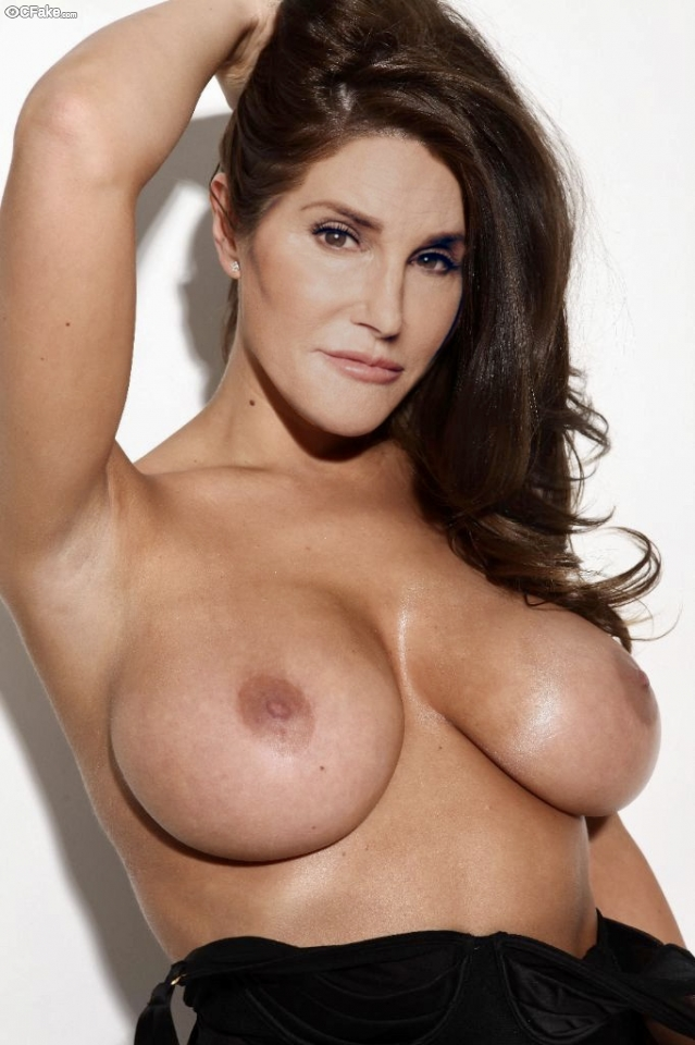 Naked Caitlyn Jenner Boobs tied