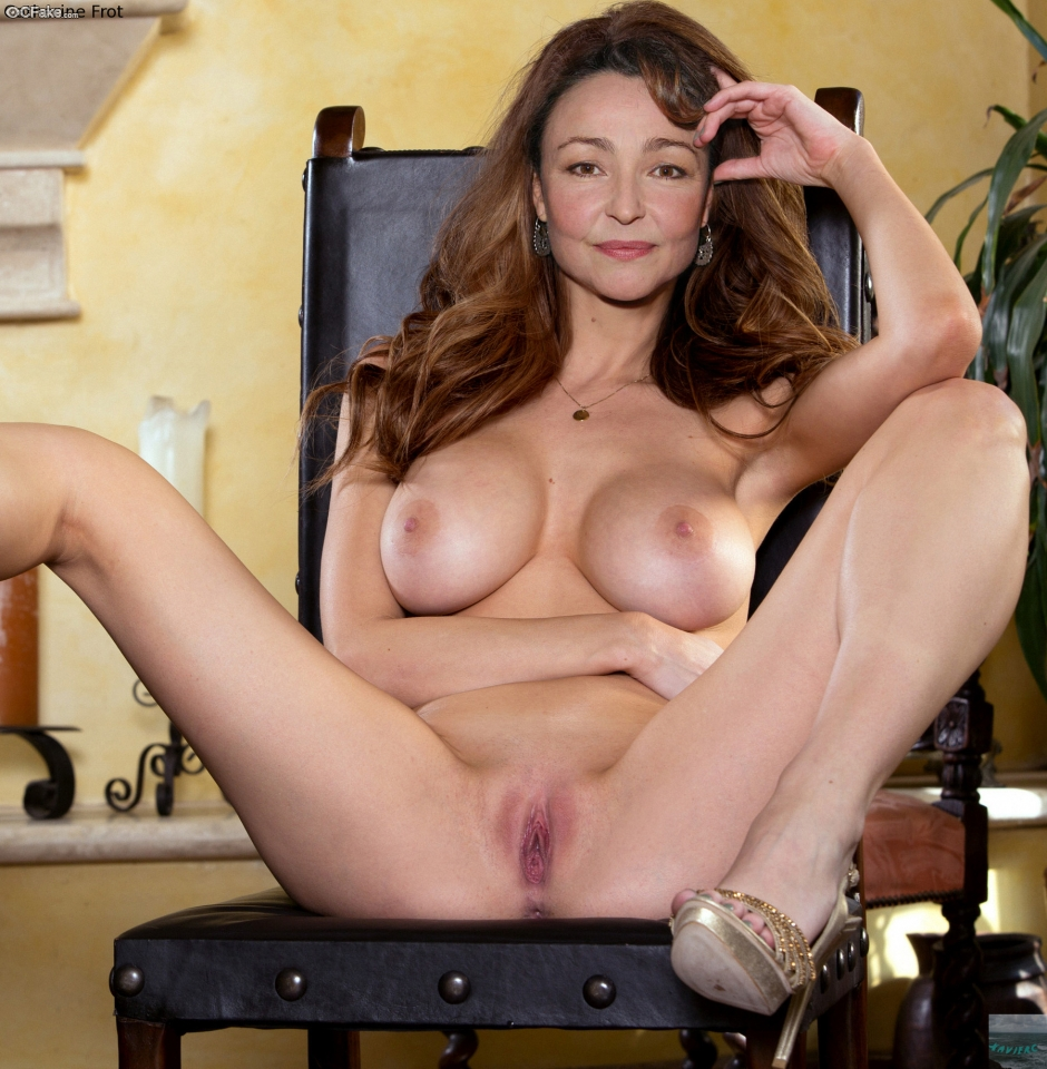 Catherine Frot real naked France Fakes