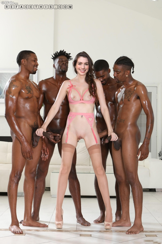 Not Anne Hathaway xxx sex photos coming