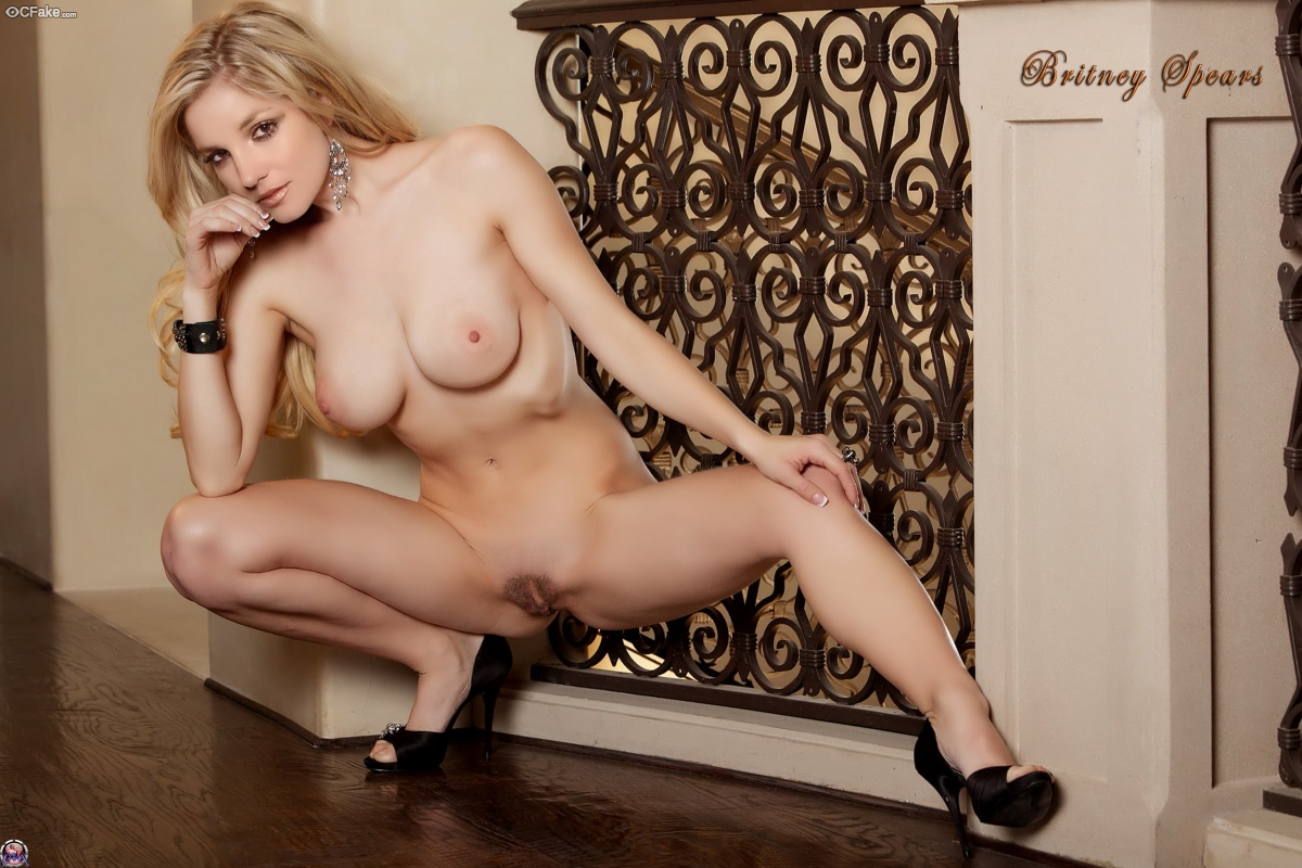 Not Britney Spears nude photos free fake work