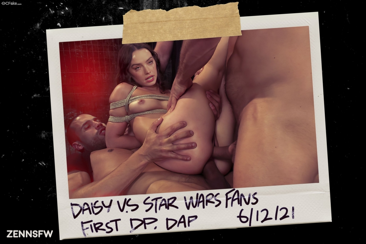 Not Daisy Ridley real butt images