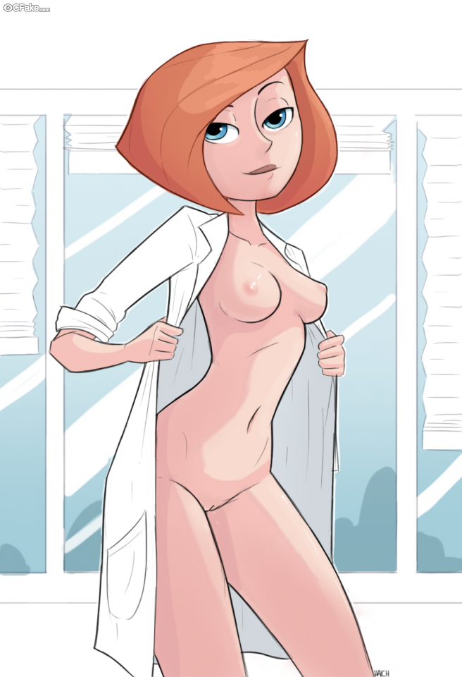 Not Kim Possible naked pussy top porn model