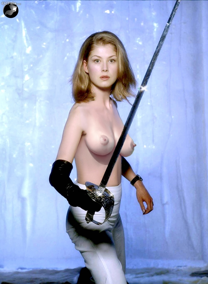 Not Rosamund Pike full naked body pictures fucking with a naked man