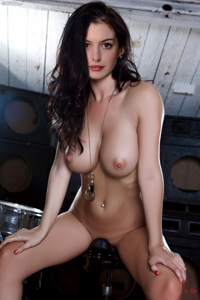 American Anne Hathaway Gangbanged Xxx Picture