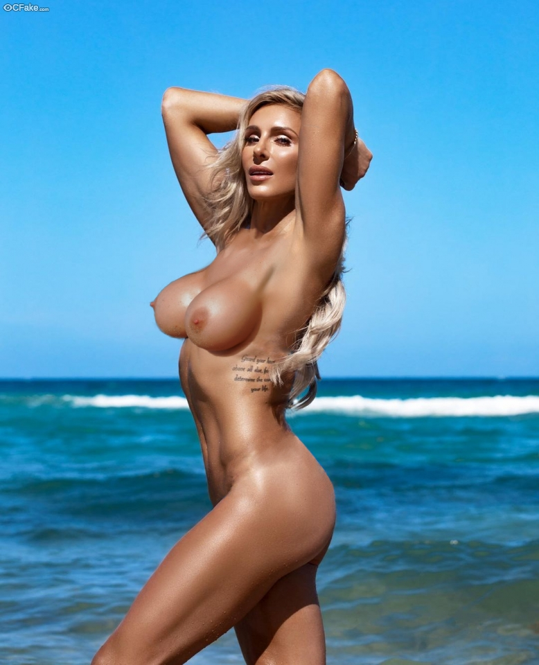 Charlotte Flair Nude Fake Ass pressed Images America Recent HD