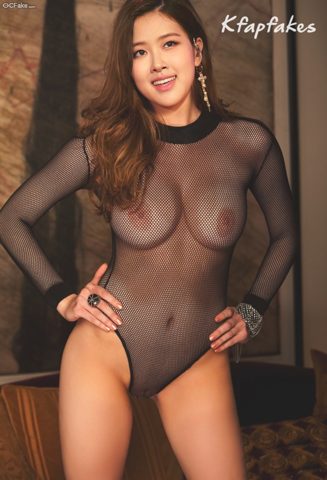 Roseanne Park Chae-young Boobs press Nipple gallery South Korea
